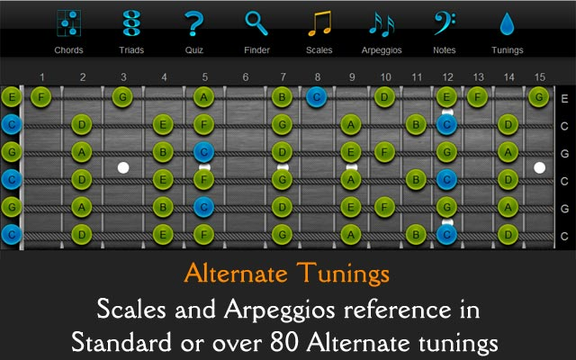 Alternate Tunings - ChordFinder.com