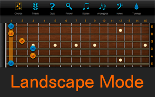Chord Finder Landscape Version