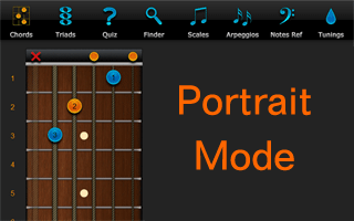 Chord Finder Portrait Version